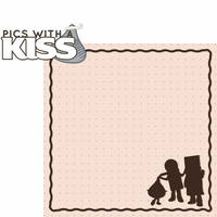 Hershey World: Pics With A Kiss 2 Piece Laser Die Cut Kit