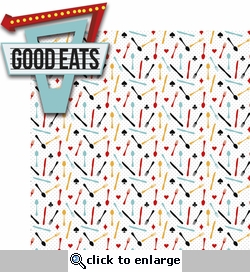 High Roller: Good Eats 2 Piece Laser Die Cut Kit