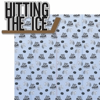 Hitting The Ice: Hitting The Ice 2 Piece Laser Die Cut Kit