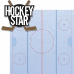 Hitting The Ice: Hockey Star 2 Piece Laser Die Cut Kit