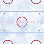 Hockey Ice 12 x 12 Double-Sided Paper