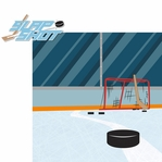 Hockey: Slap Shot 2 Piece Laser Die Cut Kit