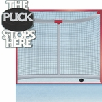 Hockey: The Puck Stops Here 2 Piece Laser Die Cut Kit