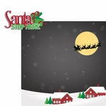 HoHoHo: Santa Stop Here 2 Piece Laser Die Cut Kit