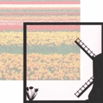 Holland: Windmill 12 x 12 Overlay Quick Page Laser Die Cut