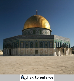 Holy Land: Dome of the Rock 12 x 12 Paper