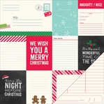 Home For Christmas: Merry & Bright 12 x 12 Double Sided Cardstock