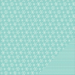 Home For Christmas: Snow Flurries 12 x 12 Double Sided Cardstock