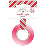 Home For The Holidays: Candy Cane Washi Tape 12 Yards