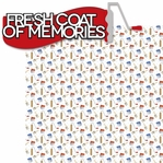 Home Improvement: Fresh Coat of Memories 2 Piece Laser Die Cut Kit