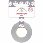 Home Run: Baseballs Washi Tape 15mm x 12yd