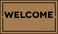 Home Sweet Home: Welcome Laser Die Cut