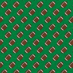 Homecoming: Footballs 12 x 12 Paper
