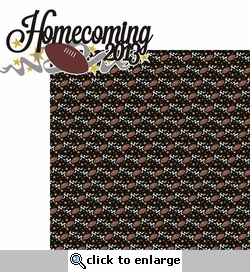 Homecoming: Homecoming 2013 2 Piece Laser Die Cut Kit