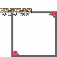 Homecoming: Homecoming 2016 2 Piece Laser Die Cut Kit
