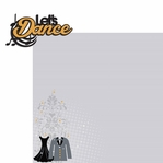 Homecoming: Let's Dance 2 Piece Laser Die Cut Kit