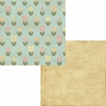 Homespun Easter: Bloomin 12 x 12 Double Sided paper