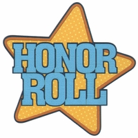 Honor Roll Laser Die Cut