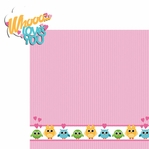 Hoot: Whoo Loves 2 Piece Laser Die Cut Kit