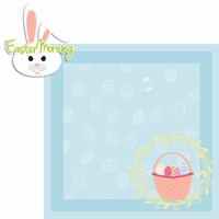 Hoppy Easter: Easter Morning 2 Piece Laser Die Cut Kit
