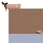 Horseback: Saddle Up 2 Piece Laser Die Cut Kit