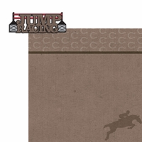 Horseriding: Jump Racing 2 Piece Laser Die Cut Kit