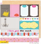 Hot Date: Pretty Things 12 x 12 Double-Sided Paper
