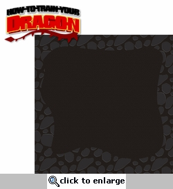 How To Train Your Dragon 2 Piece Laser Die Cut Kit
