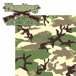 Hunting: Hunting Buddies 2 Piece Laser Die Cut Kit