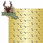 Hunting: Hunting Trip 2 Piece Laser Die Cut Kit