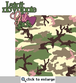 Hunting: I Ain't No Yuppie Girl Jack 2 Piece Laser Die Cut Kit