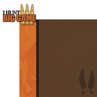 Hunting Season: Big Game 2 Piece Laser Die Cut Kit