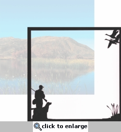 Hunting Season: Duck Hunt 12 x 12 Overlay Quick Page Laser Die Cut