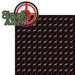 Hunting: Steady Aim 2 Piece Laser Die Cut Kit