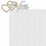 I Do: Our Vows 2 Piece Laser Die Cut Kit