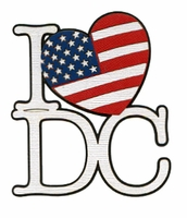 I Love DC Laser Title Cut