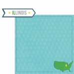 Illinois: IL Label  2 Piece Laser Die Cut Kit