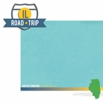 Illinois: IL Road Trip  2 Piece Laser Die Cut Kit