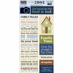 In the Zone: Our House 5.5 x 12 Accessory Sheet