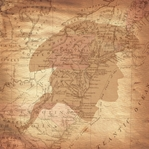 Independence: Colonial Map 12 x 12 Paper