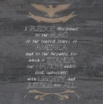 Independence: Pledge 12 x 12 Paper