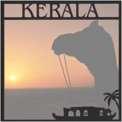 India: Kerala 12 x 12 Overlay Quick Page Laser Die Cut