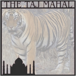 India: Taj Mahal 12 x 12 Overlay Quick Page Laser Die Cut