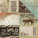 Into the Wild: Safari 12 x 12 Double-Sided Cardstock