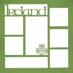 Ireland 12 x 12 Photo Overlay