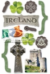 Ireland 3D Stickers