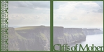 Ireland: Cliffs Of Moher Double 12 x 12 Overlay Quick Page Laser Die Cut