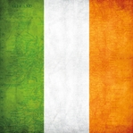 Ireland: Irish Map and Flag 12 x 12 Paper