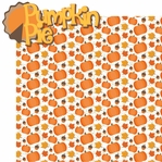 It's Turkey Time: Pumpkin Pie 2 Piece Laser Die Cut Kit