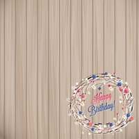 It's your Birthday: Rustic Birthday 12 x 12 Paper